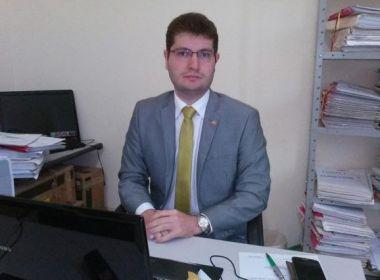 Ariel Nascimento,  promotor de Justiça do MP-BA de Brejões e Nova Itarana