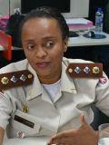 Major Denice Santiago, comandante da Ronda Maria da Penha
