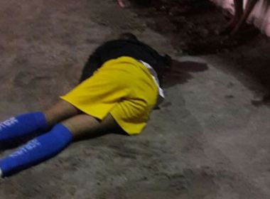 Teixeira: Dois são baleados após partida de futebol; crime pode estar ligado ao tráfico