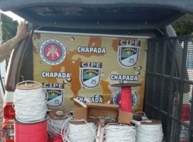 Novo Horizonte: Polícia apreende explosivos de acusado de explodir banco