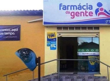 Itiruçu: Farmácia de prefeita fecha portas por falta de técnico