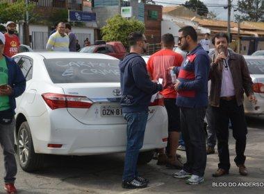 Conquista: Moradores protestam contra 'cartel' por aumento de preço da gasolina