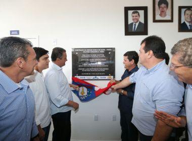 Rui Costa inaugura UBS e centro de diagnóstico em Guanambi