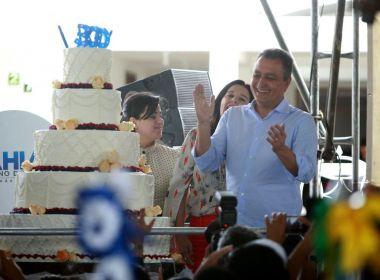 Governador comemora 300 viagens pelo interior; expectativa é chegar a mil