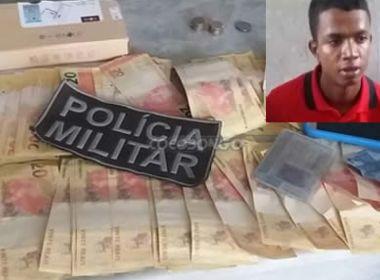 Homem é preso em Itamaraju tentando comprar produtos com notas falsas