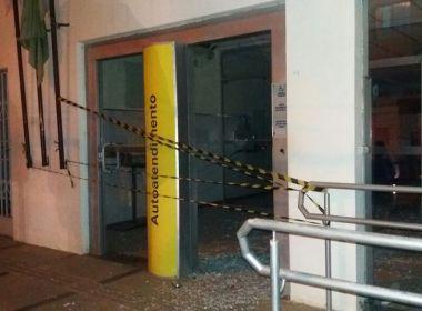 Candiba: Grupo explode agência e faz guarda municipal de refém