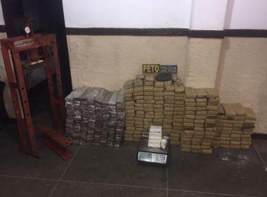 Operação apreende mais de 300 kg de drogas em Ubaitaba