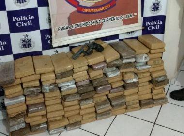 Polícia mata homem que transportava 120 quilos de maconha em Baixa Grande