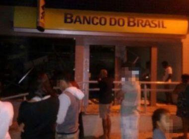 Tremedal: Quadrilha armada explode agências do Banco do Brasil e Correios