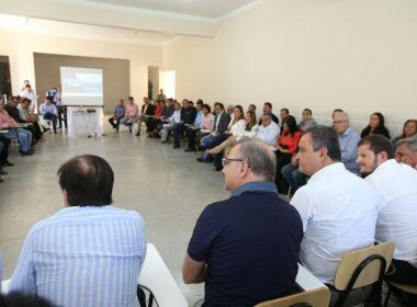 Rui se reúne com prefeitos baianos e incentiva consórcios em saúde e infraestrutura
