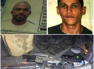 Feira: Dois suspeitos de roubo a banco morrem em tiroteio; Polícia apreende granadas