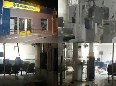 BANDIDOS EXPLODIRAM CAIXAS DO BANCO DO BRASIL DE JAGUARARI