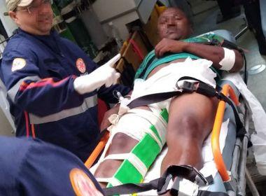 Ipiaú: Cabeleireiro é baleado quando trabalhava em salão