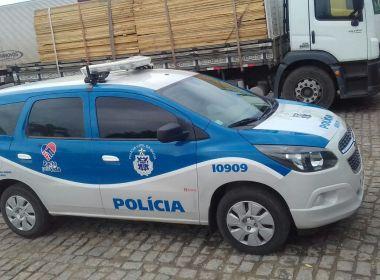 Brejões: Polícia recupera parte da carga de caminhão saqueado e intima 26 pessoas