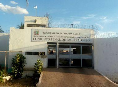 Paulo Afonso: Juiz obriga transferência de presos e aumento de agentes penitenciários