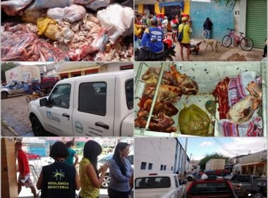 Jacobina: Operação apreende cortes de carne provenientes de abatedouros clandestinos