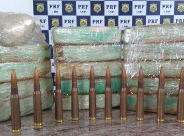 Simões Filho: PRF-BA apreende jovem de 20 anos que transportava 15 kg de cocaína