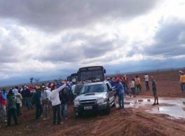 Correntina: Populares ocupam fazendas e acusam retirada ilegal de água para irrigação