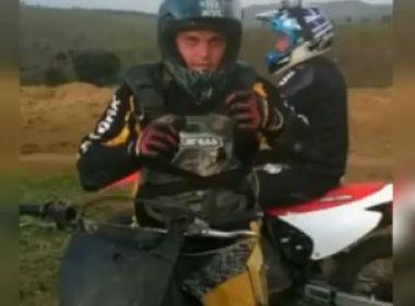 Gandu: Piloto de motocross morre após se desequilibrar durante treino