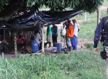 Ribeirão do Largo: Força-tarefa resgata 19 mantidos como escravos em fazenda