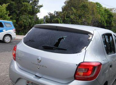 Porto Seguro: Suposto carro da 'Uber' sofre ataque em 1° dia de permissão de aplicativo