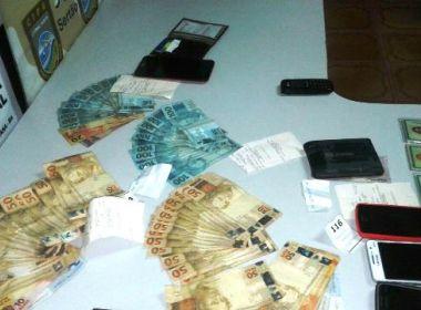 Santo Estevão: Polícia prende 4 acusados de aplicar golpe na Caixa Econômica Federal