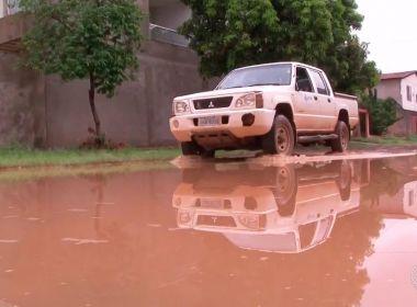 Barreiras: Chuva forte na madrugada causa transtorno aos moradores