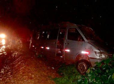 Barreiras: Uma pessoa morre e 13 ficam feridas em acidentes na BR-135