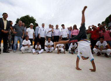 Itajuípe: Governo anuncia construção de centro de canoagem e obras para área de esportes