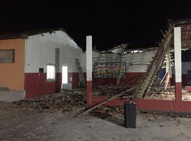 Ipiaú: Teto de prédio de acolhimento de menores desaba e entidade pede ajuda