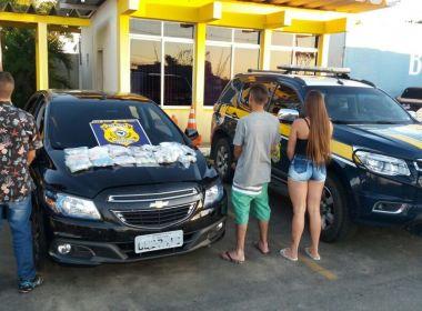 Conquista: PRF prende 3 jovens com 8 mil comprimidos de ecstasy e 330 pontos de LSD