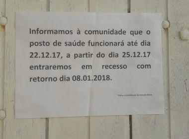 Riachão: Vereadores acusam 'recesso' na saúde; secretária nega falta de cobertura