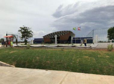 Irecê: Muro de policlínica desmorona; obra foi inaugurada há um mês