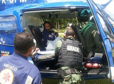 Criança de dois anos é baleada na cabeça em Muritiba; estado é grave