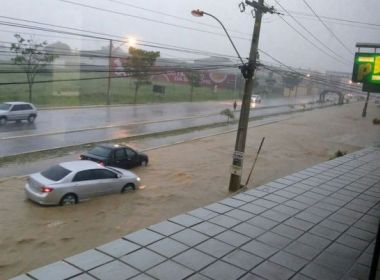 Após inundações, governo decreta situação de emergência em Vitória da Conquista