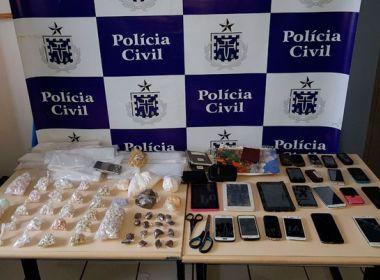 Macaúbas: Suspeitos de tráfico são presos com drogas e 20 celulares