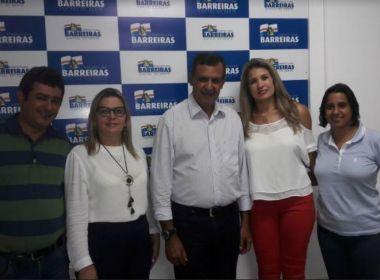 Prefeito de Barreiras muda comando das secretarias de Assistência Social e Turismo