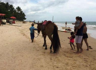 Porto Seguro: Ação contra trabalho infantil identifica 30 crianças e notifica barracas