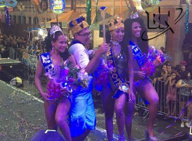 Concurso elege Rei Momo e Rainha do Carnaval de Barreiras