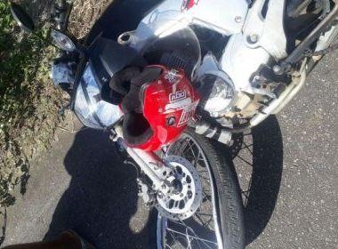Homem morre em acidente com moto  próximo a Ibicaraí