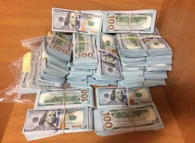 Valença: Polícia recupera R$ 1,4 milhão tirado de família de ex-prefeito sequestrado