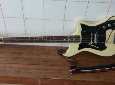 Instrumento roubado de banda de Caetano Veloso é encontrado em Ibirapitanga
