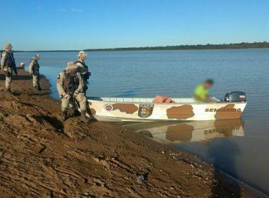 Xique-Xique: Homem morre e armas e drogas são apreendidas às margens de rio