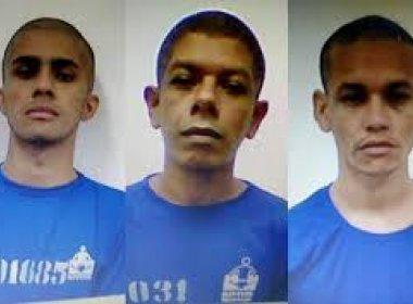 Três detentos fogem de presídio de Eunápolis na madrugada deste domingo