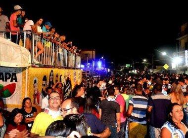 Com quatro dias de festa, pré-carnaval de Bom Jesus da Lapa segue até este domingo