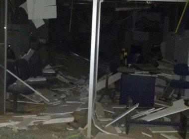 Chapada: Grupo explode única agência bancária de Boninal