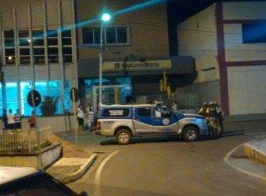 Ubaíra: Quadrilha explode Banco do Brasil