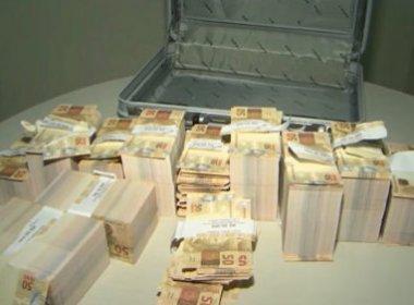 Conquista: Homem é preso ao tentar 'trocar' R$ 500 mil em notas falsas