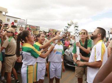 Juazeiro recebe Tocha Olímpica em clima de festa