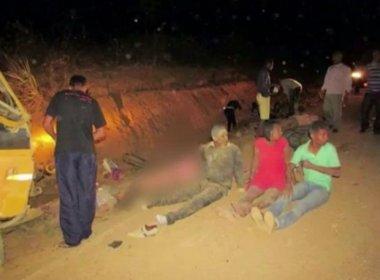 Itambé: Dois morrem em acidente com ônibus que transportava evangélicos